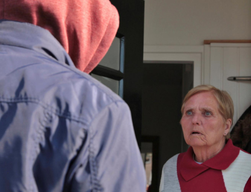 Stranger At The Door? Here's How to Stay Safe